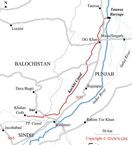 kachhi canal project css online academy